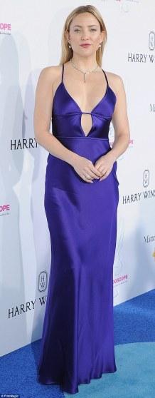 Kate Hudson wearing Amanda Wakeley